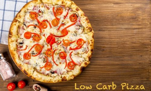 Unsere low Carb Pizza ohne Mehl
