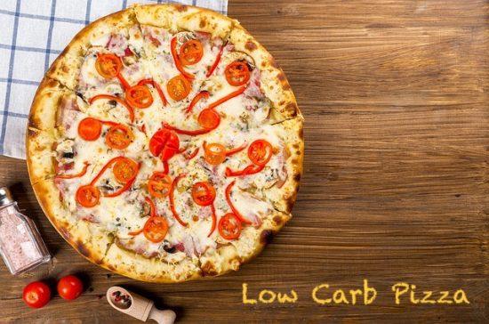 Rezept für eine Low Carb Pizza ohne Mehl